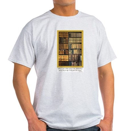 Erasmus Quote Ash Grey T-Shirt