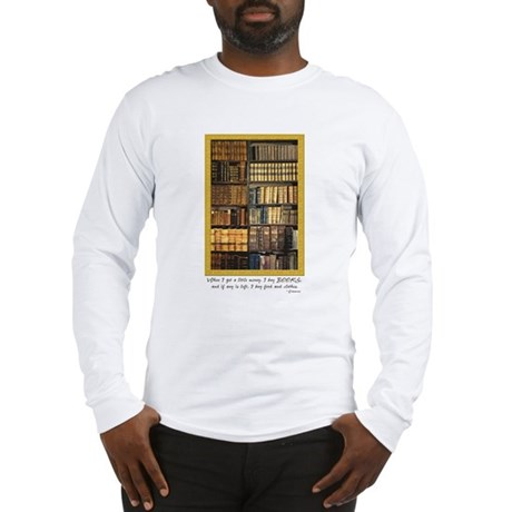 Erasmus Quote Long Sleeve T-Shirt