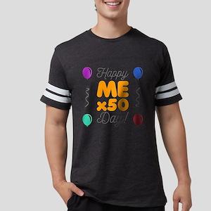 Happy 50th Birthday Mens Football Shirt