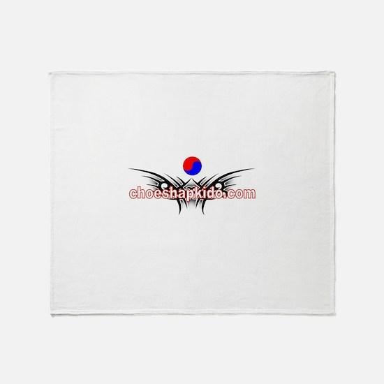 Choe's HapKiDo Karate Throw Blanket
