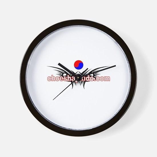 Choe's HapKiDo Karate Wall Clock