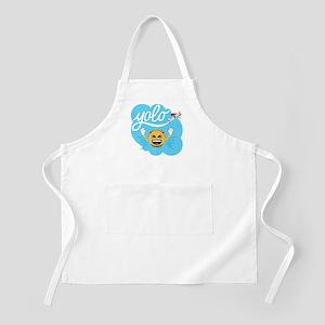 Emoji Smiley Face YOLO Light Apron