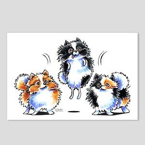 Parti Pomeranians Postcards (Package of 8)
