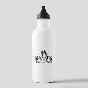 Parti Pomeranians Water Bottle