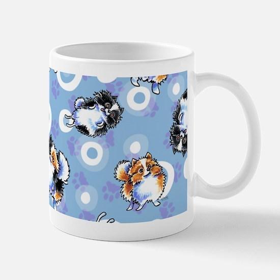Parti Pomeranians Mug