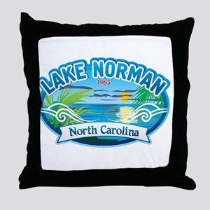 Lake Norman Waterview Throw Pillow