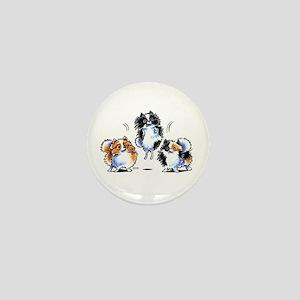 Parti Pomeranians Mini Button