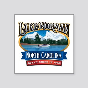 Lake Norman Waterfront Logo Sticker