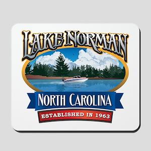 Lake Norman Waterfront Logo Mousepad