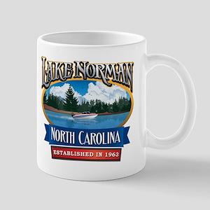 Lake Norman Waterfront Logo Mug