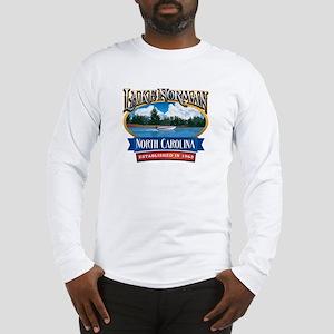 Lake Norman Waterfront Logo Long Sleeve T-Shirt