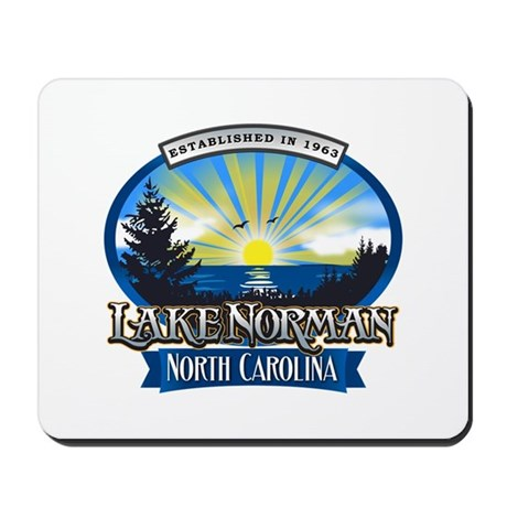 Lake Norman Sun Rays Logo Mousepad