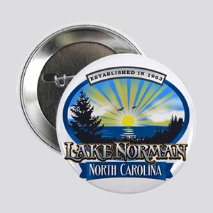 "Lake Norman Sun Rays Logo 2.25"" Button"