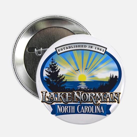 "Lake Norman Sun Rays Logo 2.25"" Button"