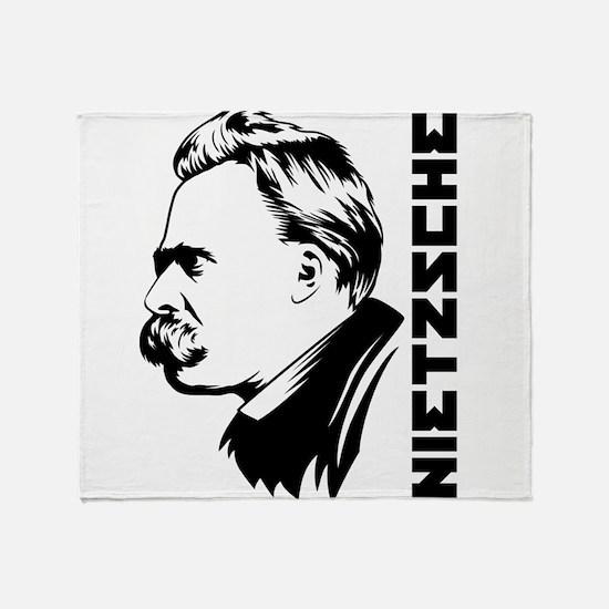 Unique Nietzsche Throw Blanket