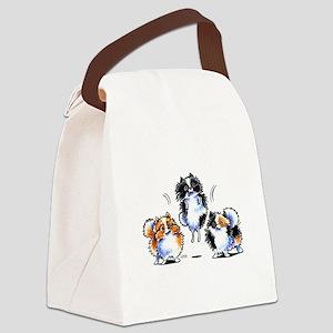 Parti Pomeranians Canvas Lunch Bag