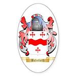Balmforth Sticker (Oval 50 pk)