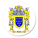 Bally Round Car Magnet