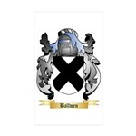 Ballwen Sticker (Rectangle 50 pk)