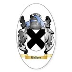 Ballwen Sticker (Oval)