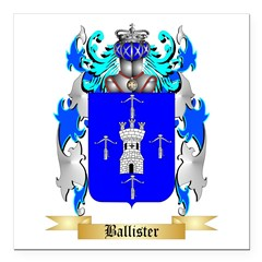 Ballister Square Car Magnet 3