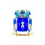 Ballister Sticker (Rectangle 50 pk)