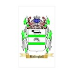 Ballinghall Sticker (Rectangle 50 pk)