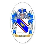 Ballinger Sticker (Oval)