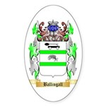 Ballingall Sticker (Oval 10 pk)