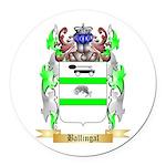 Ballingal Round Car Magnet