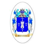 Ballestreri Sticker (Oval)