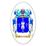 Ballestreri Sticker (Oval 50 pk)
