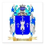 Ballesteros Square Car Magnet 3