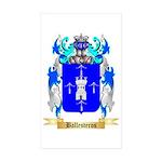 Ballesteros Sticker (Rectangle 50 pk)