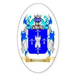 Ballesteros Sticker (Oval 10 pk)