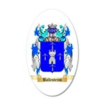 Ballesteros 20x12 Oval Wall Decal