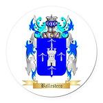 Ballestero Round Car Magnet