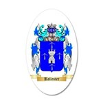 Ballester 20x12 Oval Wall Decal