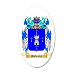 Ballester 35x21 Oval Wall Decal