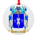 Balleste Round Ornament
