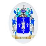 Balleste Ornament (Oval)