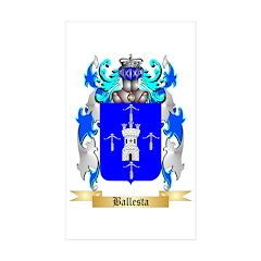 Ballesta Sticker (Rectangle 10 pk)