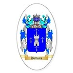 Ballesta Sticker (Oval 10 pk)