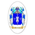 Ballesta Sticker (Oval 50 pk)