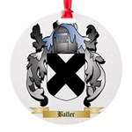 Baller Round Ornament
