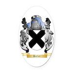 Baller Oval Car Magnet
