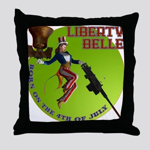 LBfront10x10 Throw Pillow