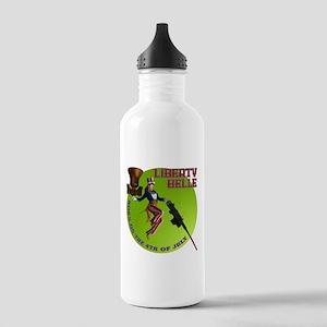 LBfront10x10 Water Bottle