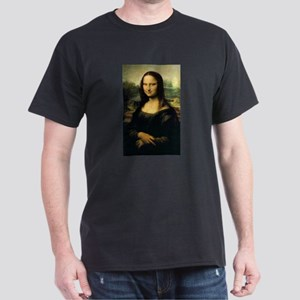 Evil Mona Lisa Dark T-Shirt