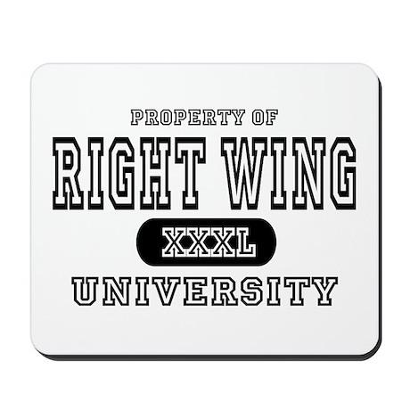 Right Wing University Mousepad